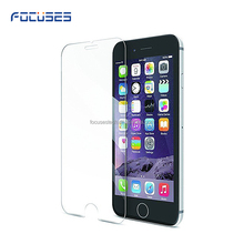 0.33mm Ultra thin high transparent 9h tempered glass screen protector for iPhone 6