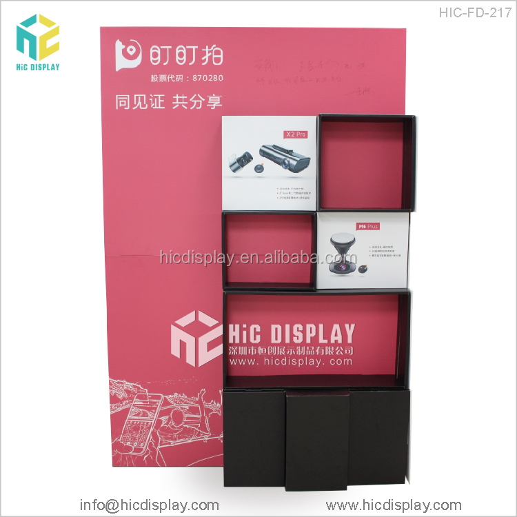 HIC custom pop cardboard display racks and stands for hardware store