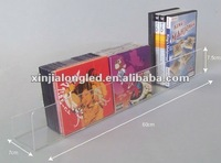 Acrylic Clear Counter CD Holder Display Stand Acrylic Media Browser