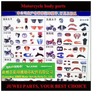 High quality motocross parts