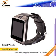 Hot selling MTK6260,1.54inch display,pedometer,heart rate monitor,anti-loss,music and audio play smart watch phone