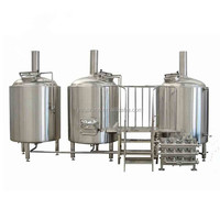 15 BBL Brewing Fermenter Three Vessel