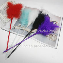 Lovely feather fluffy Pen For Gift