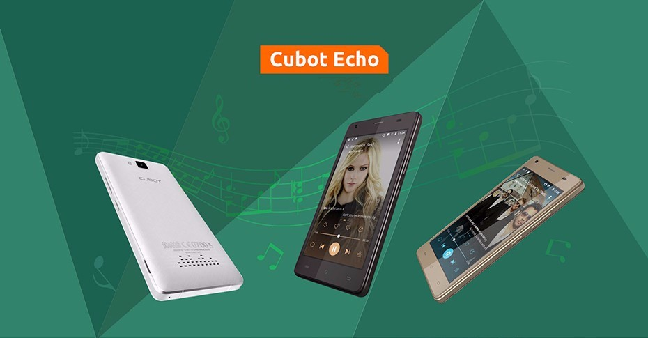 Latest Cubot Echo MT6580,Quad Core, 1.3GHz RAM 2GB/ROM 16GB Front 5.0Mp and Back 13.0Mp 3000mAh smartphone