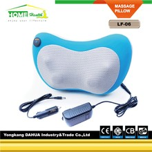 Full body head back neck rolling Kneading massager/shiatsu infrared massage pillow & cushion with heat