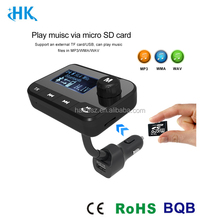 Noise reduction and echo cancelling car reverse camera steering wheel control 12v bluetooth handsfree car kit