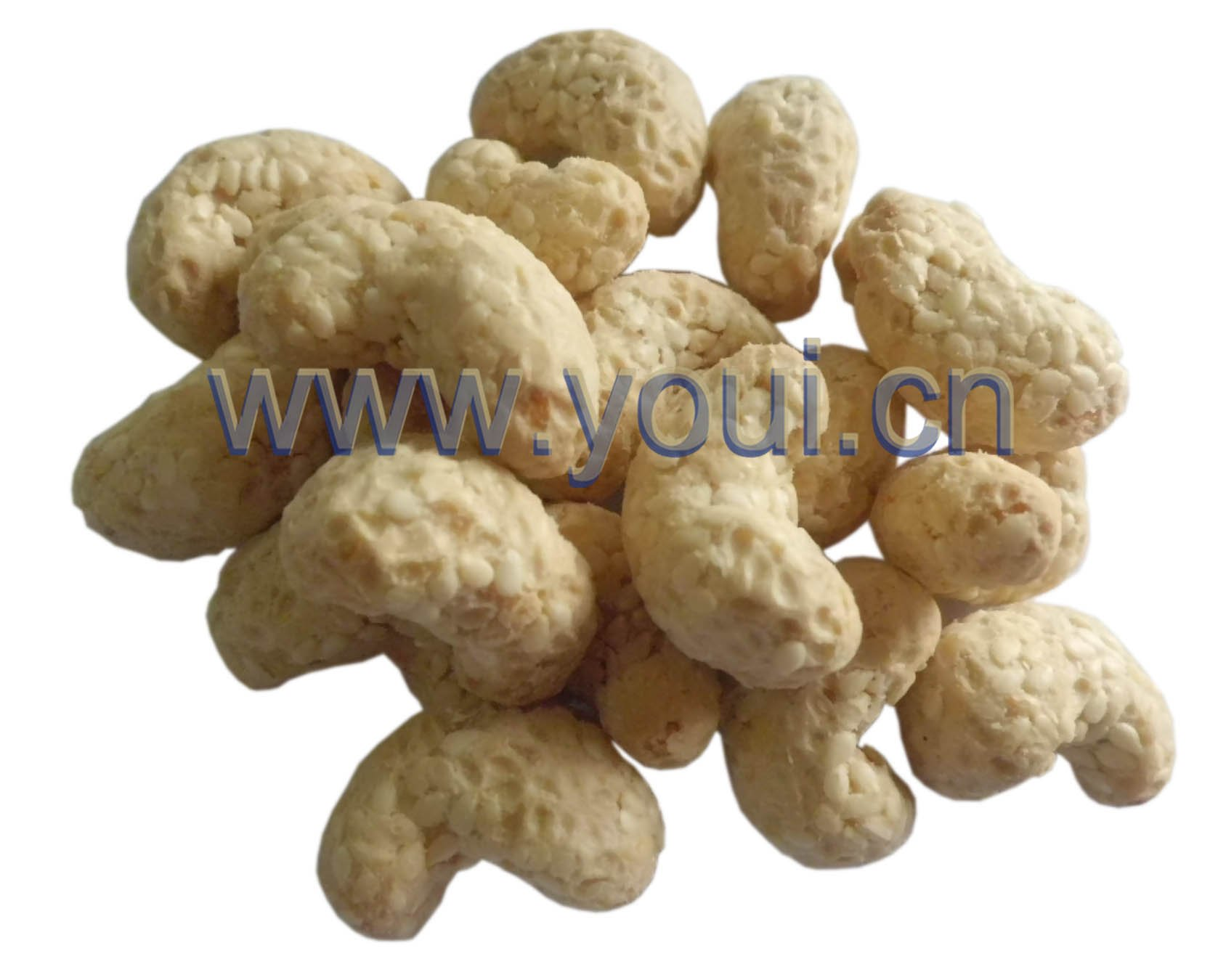 BRC Certified Sesame Coated Cashews nuts