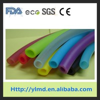 Colorful flexible rubber silicone hose/tube