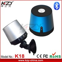KZY distributor outlet car audio made in china memory card bluetooth speaker