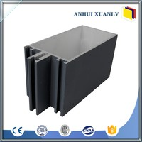 180mm Section Exposed Frame Unitized Extrusion
