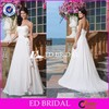 CE732 Simply Strapless Sexy Backless White Chiffon Country Style Wedding Dresses