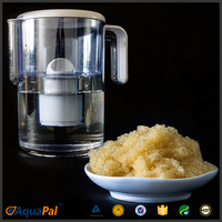 Aquapal food safe cation exchange resin for water filter pitcher