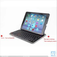 ACC4S New Arrival Smart PU Leather Case For Apple Ipad Air 5 Bluetooth Keyboard P-IPD5CASE080