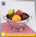 5 Quart Stainless Steel Colander /Fruit Basket