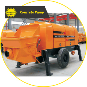 Small Portable Mobile Diesel Electric Hydraulic Trailer Cement Mortar Ready Mix Concrete Pump Price for Sale