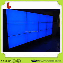 46inch 5.3mm video wall lcd Split screen advertising player/monitor/display/screen with metal case