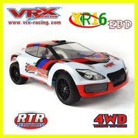 Hot sale 1/16 scale 4WD brushless electric rc model car