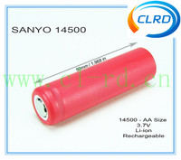Hot sale strong torch battery 800mAH Li-ion Cell ur14500p Rechargeable Battery cell