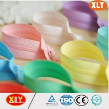 two way slider colorful separating nylon zipper