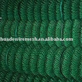 Plastic-Coated Iron Chain Link Fence