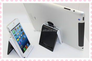 Christmas Promotion Multi Adjustable Folding Plastic Mobile Phone Holders for iPhone pad for desk