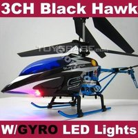 3 Channel rc Black Hawk & Radio control helicopter