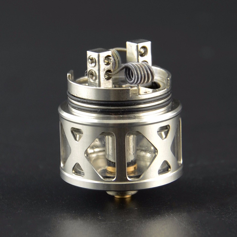 Revolutionary Tesla RDTA!! Together with RTA & RDA Features Atomizer Tesla Arrow RDTA
