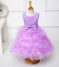 kids frilly dresses newest golden/silver/white party 3 years baby frock designs