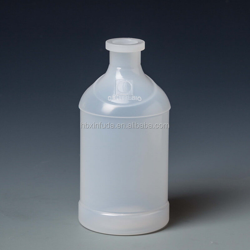 hot selling clear rubber stopper 250ml vaccine injection vial bottle (zoey-pan@fudaplastic.com)