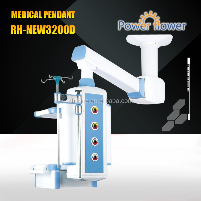 HOT SALES RH-NEW3200D single arm electric ceiling medical pendants With FDA CE ISO 13485