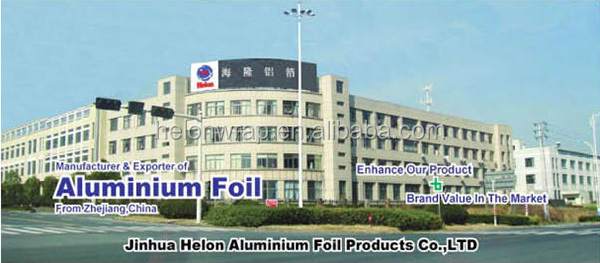 100% Safe Food Grade Aluminium Foil Roll for Storing
