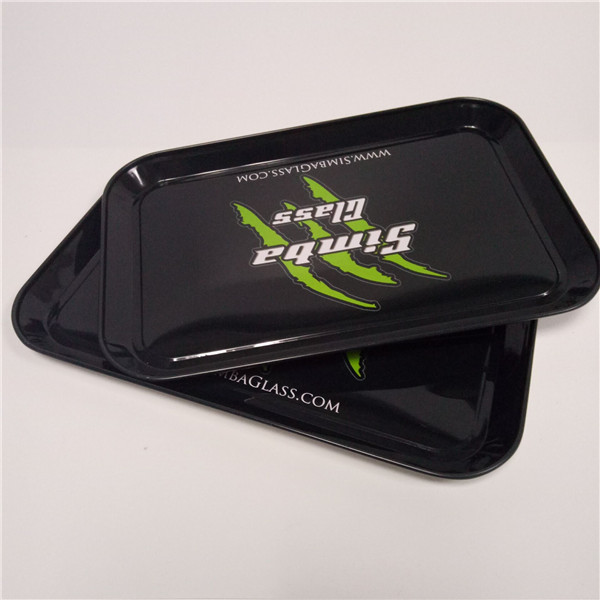 High quality custom Sedex approved tin rolling tray