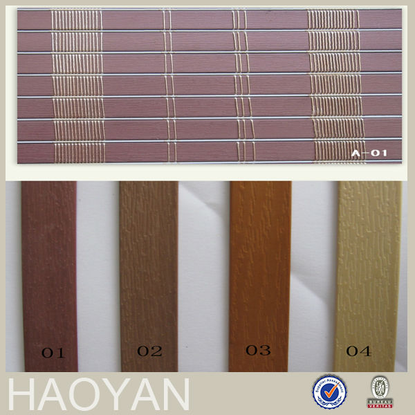 PVC Outdoor Blinds Polyester Window Curtains