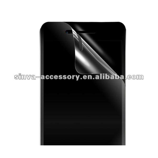 Anti-Fingerprint Screen Protector for mobile phone HTC One X galaxy note