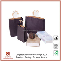 cheap colorful shopping kraft paper bags