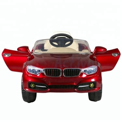 4 wheel pedal rechargeable baby battery-powered toy kids electric car with remote control