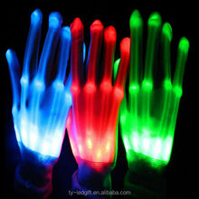 Custom products multi-color led gloves Glowing party decoration gloves