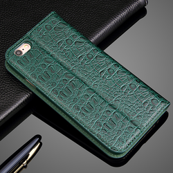 China phone case manufacturing crocodile leather wallet phone case for iphone 6s