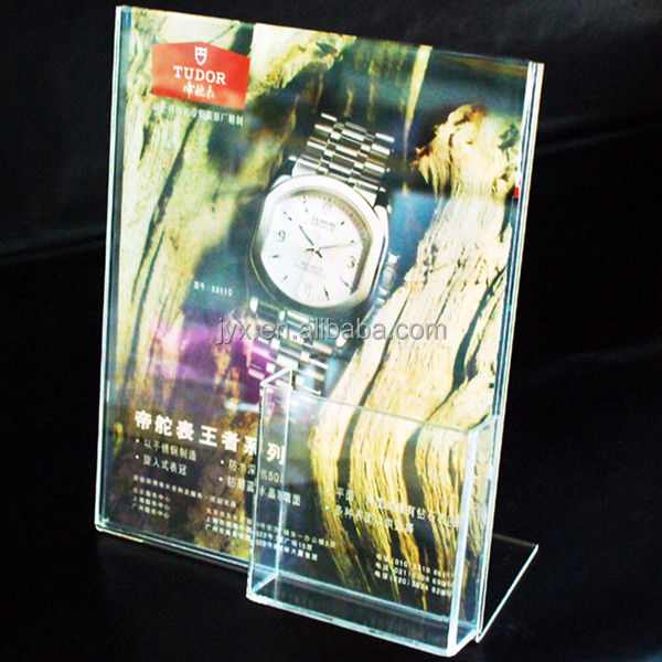 Hot-sale acrylic poster brochure holder