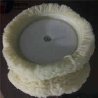 Professional 7 inches wool polishing/buffing pad with CE certificate