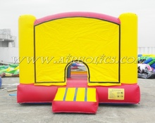 2017 hot inflatable jumping castle, playing castle inflatable bouncer, inflatable combo inflatable toy with art panels A2120