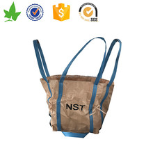 Factory directly sale pp big jumbo bags for packing industial garbage in beige color
