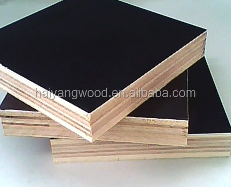 laminated board of black face , factory price , waterproof material