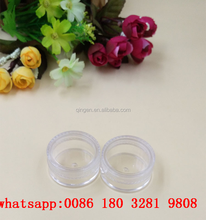 Mini Jar 5ML Plastic Jars,Cosmetic Jar 5ml For Gel Cream Serum ,Round Clear Small Plastic 5g Jar
