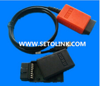 Wholesale assembled J1962 OBDII/OBD Cable for ELM327 without PCB car diagnostic system