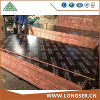 Linyi cheap construction materials 18mm film faced construction plywood
