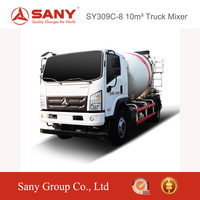 SANY SY309C 8 10 m3 Concrete Mixer Truck Super Energy Saving Concrete Mixer Prices in India