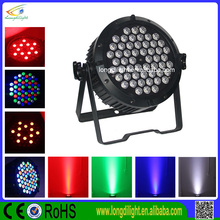 54*3w slim par light,rgbw led flat par light,quad color led par