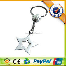 Custom Made Promotion Metal Star Key Chain for Gift