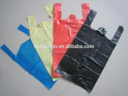 Hot selling plastic shopping packing bag for wholesales
